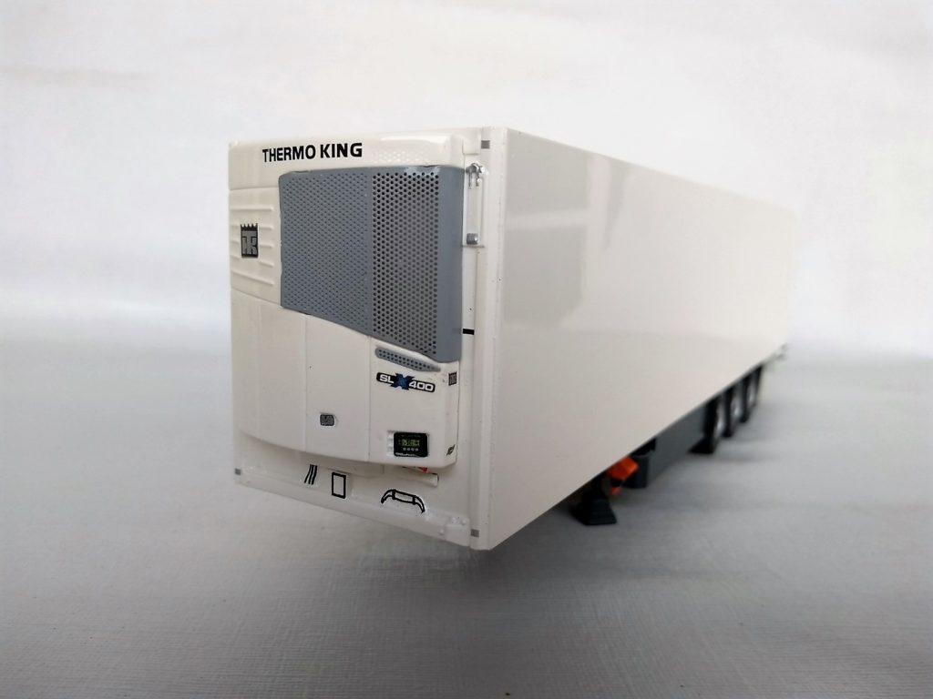 Miniatura Carreta Furgão Refrigerado escala 1:50 da Tekno.