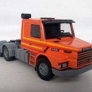 LANÇAMENTO - Miniatura Caminhão Scania T142 escala 1:50 da Tekno.